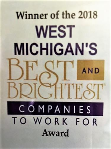 Voted West Michigan101 Best & Brightest 2018