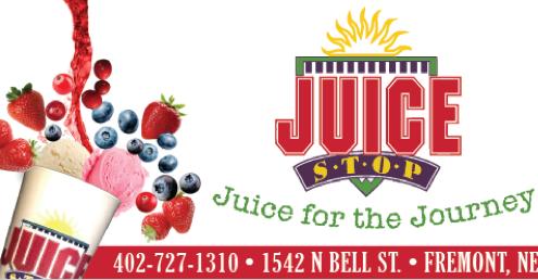 Juice Stop Banner