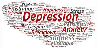 Depression can be difficult to handle alone.