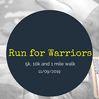 3rd Annual Run for Warriors