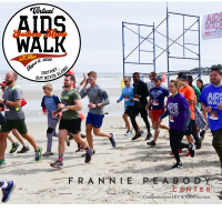 Frannie Peabody's Virtual Southern Maine Aids Walk/5K Run