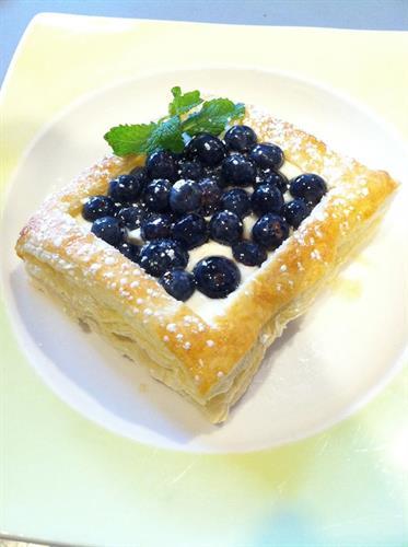 Wild Blueberry Dessert