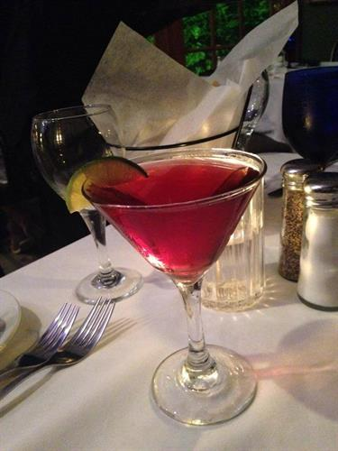 Elderberry Martini