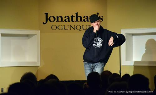 Maine Comedian, Bob Marley, with Wicked Funny Comedy at Jonathan's