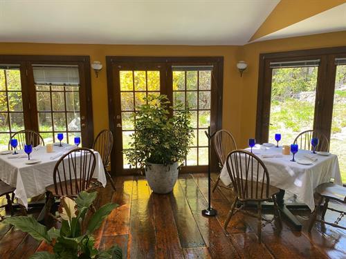 Socially Distanced Dining Room