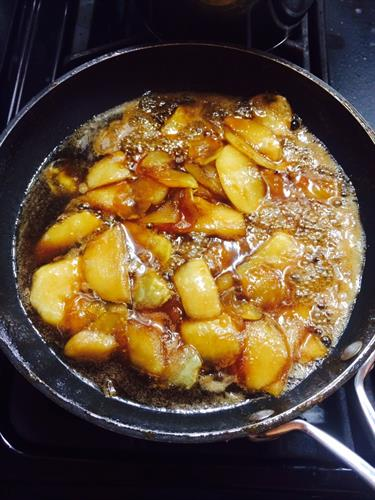 Carmelized Apples for French Toast