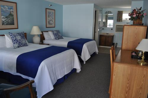 Room with 2 Double Size Beds
