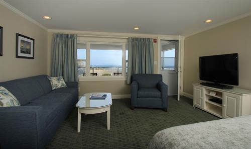 Deluxe room, queen, double and sofa bed