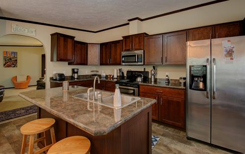 Kitchen in the 3 Bedroom Cottage - Offsite location