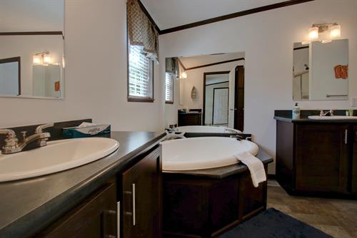 Master Bath in the 3 Bedroom Cottage - Offsite location