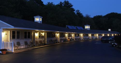 "Night-time at the Wells-Ogunquit Resort Motel- ""Peaceful starry night"""