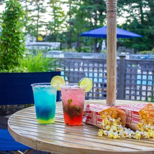 Poolside Patio Bar