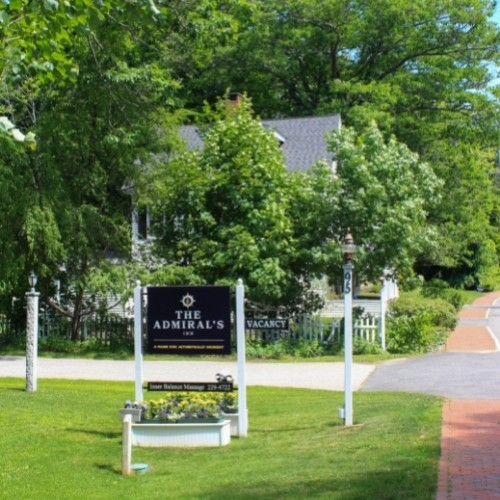 The Admiral's Inn - just 400 yards from town.