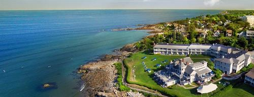 Beachmere Inn located on the beach and Marginal Way