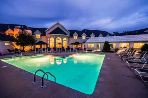 Gorges Grant Hotel Outdoor Pool