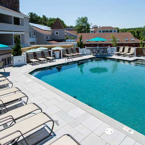 Outdoor pool, indoor pool and more at our Ogunquit hotel