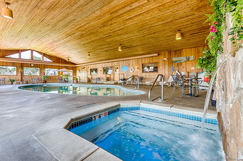 Misty Harbor Indoor Pool and Hot Tub