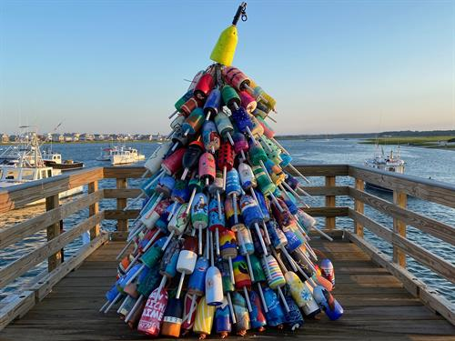 Buoy Christmas tree