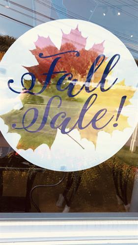 Gallery Wide Fall 2020 Sale!