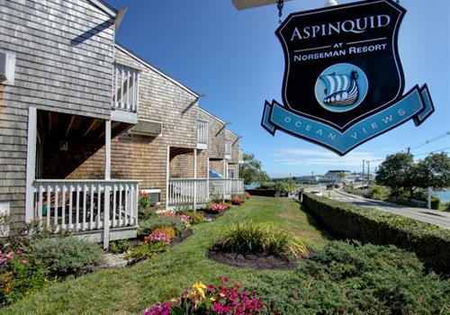 Our Entrance On Beach Street