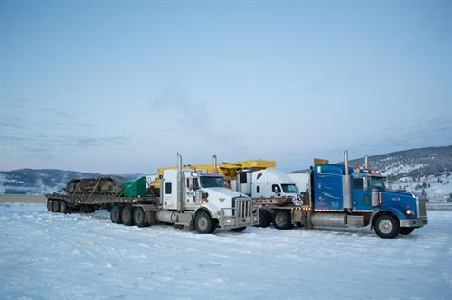 Crane haul