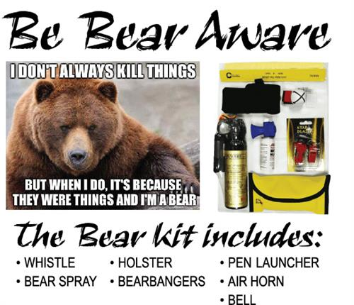 We supply a variety of animal scare products.