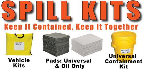 Spills happen, make sure you're prepared