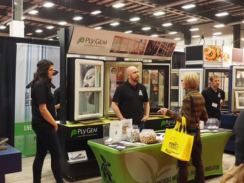 Energy Efficiency Pros at the Home Show 2017. A brand new company focused on window and door replacements.