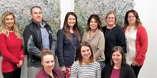 Grande Prairie Mortgage Brokers! Chanele Langevin,  Gert Martens, Daina Stringer, Pam Lobban, Megan Lemay, Doria Zacharias, Jodi Scotton