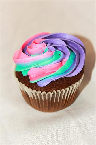Cupcakes available in a variety of flavours