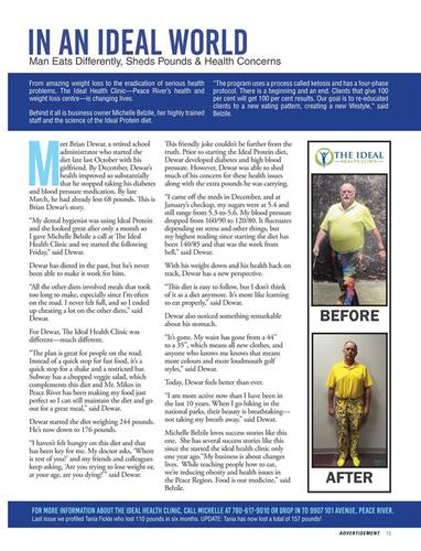 Move up Magazine with Brian!