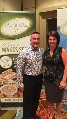CEO of Ideal Protein and Michelle Belzile
