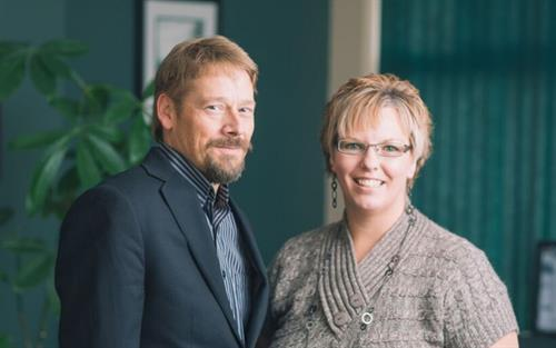 Branch Team, Trevor Willis and Veronica Dougherty