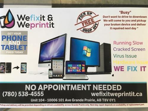 Fastest service in Grande Prairie