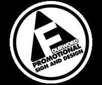 Fourword Promotional Sign & Design