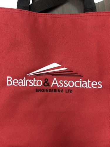 Beairsto & Associates Embroidered Bag