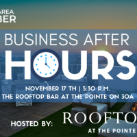 2021 November Business After Hours hosted by The Pointe on 30A