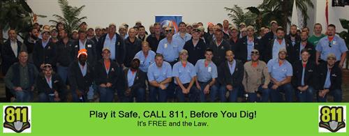 Always call 811!