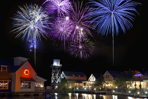 The Village of Baytowne Wharf Fireworks