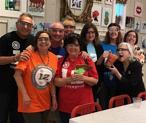 IZ Team Building at Shard Shop 2018