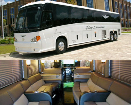 30 passenger VIP Entertainer Day Coach - ***Please Call Now 850-269-1200 or | reserve for pricing and availability.