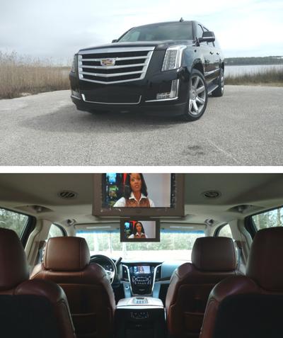 Cadillac Escalade ESV #1 - Platinum Luxury Edition (5 passengers) - $80/hr + Gratuity