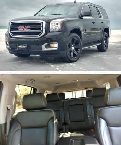 GMC Yukon - Black Out Edition ( 6-passengers) - $80/hr + Gratuity