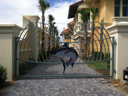Marlin Entrance Gate