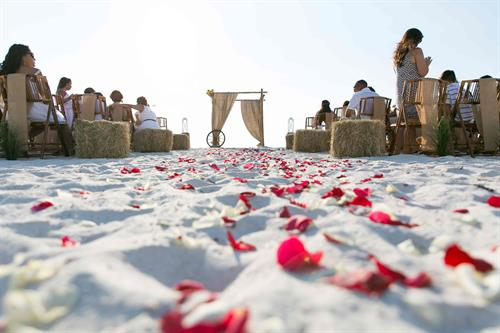 Siesta Key Beach Wedding Package - Country Fair Themed Wedding Package