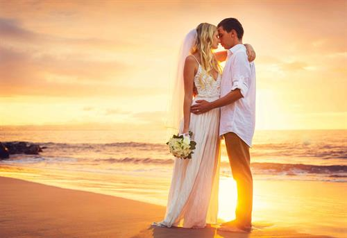 Romantic Beach Wedding Package on Siesta Key Beach