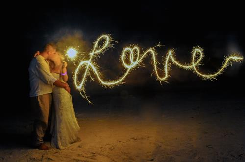 LOVE @ Dusk on Clearwater Beach - Destination Wedding Package