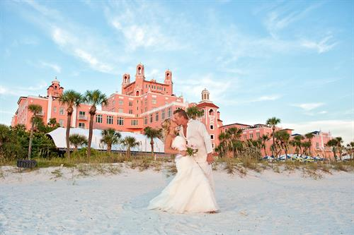 Don Cesar Beach Wedding - Pass-a-Grille Beach Wedding Package