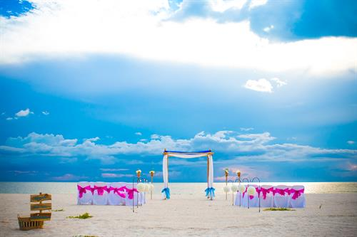 Custom Wedding Package on Anna Maria Island