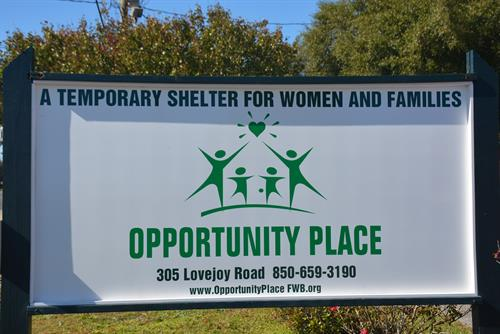 A shelter for women and families who are homeless.